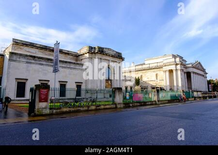 The Fitzwilliam Museum on Trumpington Street  in Cambridge, Cambridgeshire, England, UK  Mark Bullimore Photography 2019 - Stock Photo