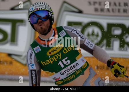 Val Gardena, Italy. 20th Dec, 2019. Super G Men, Ski in Val Gardena, Italy, December 20 2019 Credit: Independent Photo Agency/Alamy Live News - Stock Photo