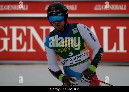 December 20, 2019, Val Gardena, Italy: mauro caviziel (sui)during FIS SKI WORLD CUP 2019 - Super G Men, Ski in Val Gardena, Italy, December 20 2019 - LPS/Roberto Tommasini (Credit Image: © Roberto Tommasini/LPS via ZUMA Wire) - Stock Photo