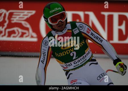 December 20, 2019, Val Gardena, Italy: andreas sander (ger)during FIS SKI WORLD CUP 2019 - Super G Men, Ski in Val Gardena, Italy, December 20 2019 - LPS/Roberto Tommasini (Credit Image: © Roberto Tommasini/LPS via ZUMA Wire) - Stock Photo