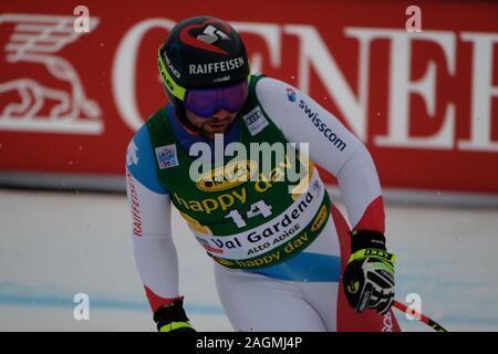 Val Gardena, Italy. 20th Dec, 2019. beat feuz (sui)during FIS SKI WORLD CUP 2019 - Super G Men, Ski in Val Gardena, Italy, December 20 2019 - LPS/Roberto Tommasini Credit: Roberto Tommasini/LPS/ZUMA Wire/Alamy Live News - Stock Photo