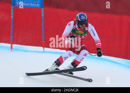 Tyrol, Italy. 20th Dec 2019. Saslong, Val Gardena, Tyrol, Italy; International Ski Federation, Val Gardena Alpine Skiing, Saslong Classic, Super-G, Mathias Mayer (AUT); - Editorial Use Credit: Action Plus Sports Images/Alamy Live News - Stock Photo