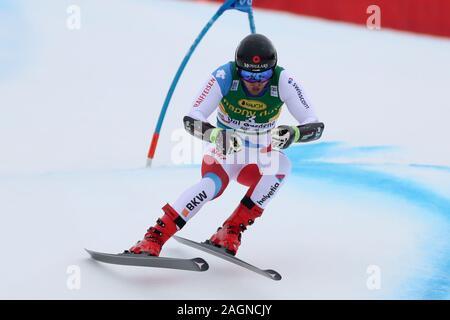 Tyrol, Italy. 20th Dec 2019. Saslong, Val Gardena, Tyrol, Italy; International Ski Federation, Val Gardena Alpine Skiing, Saslong Classic, Super-G, Mauro Caviezel (SUI); - Editorial Use Credit: Action Plus Sports Images/Alamy Live News - Stock Photo
