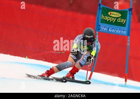 Tyrol, Italy. 20th Dec 2019. Saslong, Val Gardena, Tyrol, Italy; International Ski Federation, Val Gardena Alpine Skiing, Saslong Classic, Super-G, Adrian Sejersted (NOR); - Editorial Use Credit: Action Plus Sports Images/Alamy Live News - Stock Photo