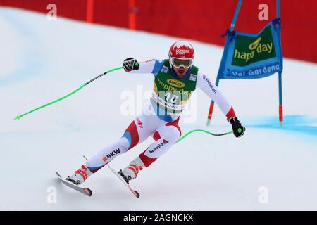 Alpine Ski World Cup FIS in Val Gardena, Italy on December 20, 2019, Super-G Men event, - Editorial Use Credit: Action Plus Sports Images/Alamy Live News - Stock Photo