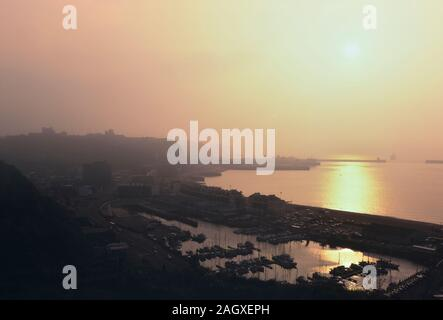 The Port of Dover at dawn. Kent. England. UK. Europe - Stock Photo
