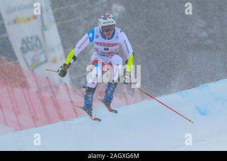 Alta Badia, Italy. 22nd Dec, 2019. Giant Slalom Men, Ski in Alta Badia, Italy, December 22 2019 Credit: Independent Photo Agency/Alamy Live News - Stock Photo
