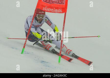 Alta Badia, Italy. 22nd Dec, 2019. kranjec zan (slo) 3rd classifiedduring FIS SKI WORLD CUP 2019 - Giant Slalom Men, Ski in Alta Badia, Italy, December 22 2019 - LPS/Sergio Bisi Credit: Sergio Bisi/LPS/ZUMA Wire/Alamy Live News - Stock Photo