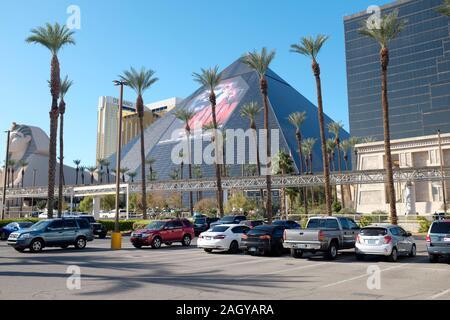 Luxor resort Hotel and Casino, Las Vegas, Nevada, USA.