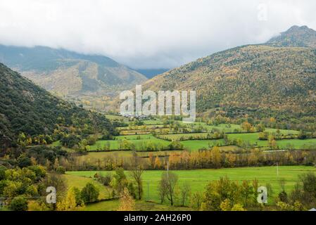 Autumn Arròs de Cardós - Stock Photo