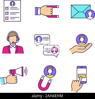 Call Center And Target Customer Service Concept Vector Illustration Graphic Design Stock Vector Image Art Alamy