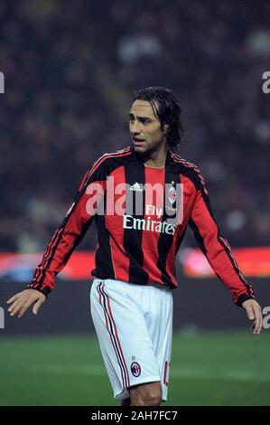 Milan  Italy, 15 November 2010, 'G.MEAZZA SAN SIRO ' Stadium, Campionato di Calcio Seria A 2010/2011,  FC Inter - AC Milan: Alessandro Nesta during th - Stock Photo