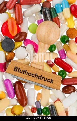 Verschiedene Tabletten, Kosten, Geld, Euro, US-Dollar,Gesundheitswesen, Krankenhasse, Medizin, Pillen, - Stock Photo