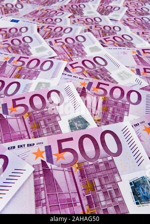500er Euro-Banknoten - Stock Photo