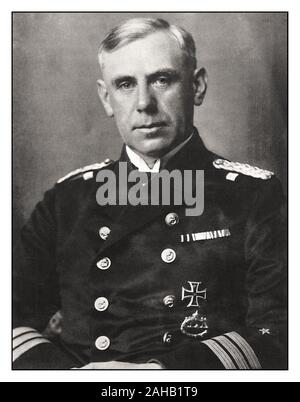 Admiral Wilhelm Franz Canaris (1887 –1945) was chief of the Abwehr, the  Nazi German military intelligence service, from 1935 to 1944. He was among the military officers involved in the clandestine opposition to Adolf Hitler and the Nazi regime. He was executed in the Flossenbürg concentration camp for the act of high treason after the failed attempt of the opposition to assassinate Hitler on July 20, 1944 - Stock Photo