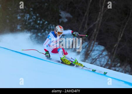 Bormio, Italy. 28th Dec, 2019. kryenbuehl urs (sui) second classified during AUDI FIS World Cup 2019 - Men's Downhill - Ski - Credit: LPS/Sergio Bisi/Alamy Live News - Stock Photo