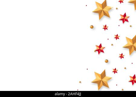 Merry Christmas and Happy New Year Cards Background, - Stock Photo