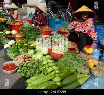 Vietnam has many street stalls and markets selling everything from live frogs to shell fish and other goods.
