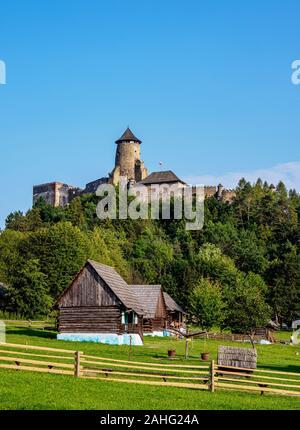 Open Air Museum at Stara Lubovna, Presov Region, Slovakia