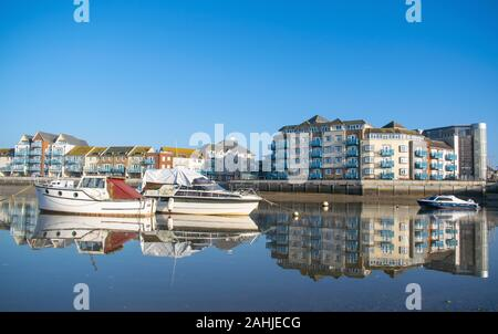 Shoreham Reflections - Stock Photo