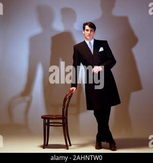 Tony Hadley of Spandau Ballet 1983 - Stock Photo