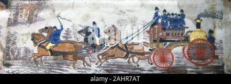 Thomas Stevens. Heroism on Land (Fire Engine). 1875–1900. Coventry. - Stock Photo
