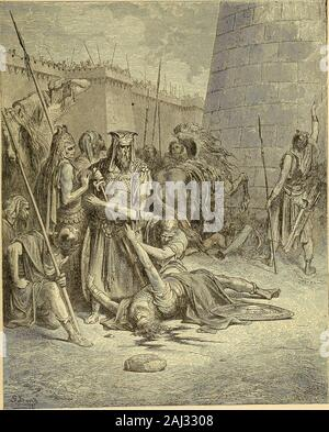 The story of our Christianity; an account of the struggles, persecutions, wars, and victories of Christians of all times . ANTIOCHUS TAKING JERUSALEM. - Stock Photo