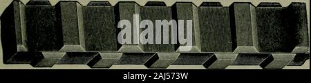 A treatise on concrete, plain and reinforced : materials, construction, and design of concrete and reinforced concrete; 2nd ed. . Ransome Twisted Bar.. Johnson Corrugated Bar. - Stock Photo