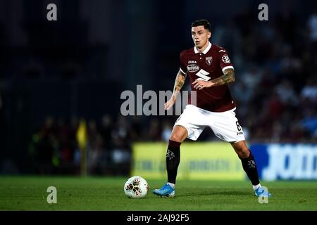 Alessandria, Italy. 25 July, 2019: Daniele Baselli of Torino FC in action during the UEFA Europa League second qualifying round football match between Torino FC and Debrecen VSC. Torino FC won 3-0 over Debrecen VSC. Credit: Nicolò Campo/Alamy Live New - Stock Photo