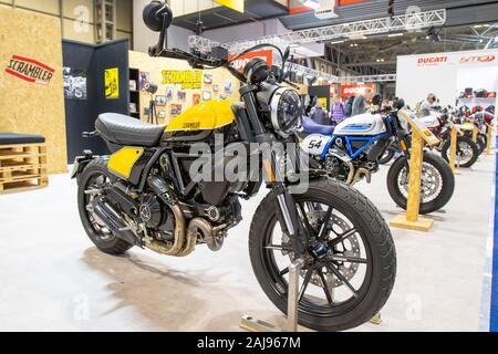 Ducati Scrambler Full Throttle - Stock Photo