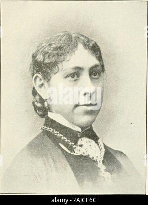 Descendants of William Scott of Hatfield, Mass., 1668-1906 and of John Scott of Springfield, Mass., 1659-1906 . Mrs. Jennie A. (Fillebrown) Scott. - Stock Photo