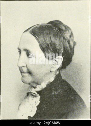 Descendants of William Scott of Hatfield, Mass., 1668-1906 and of John Scott of Springfield, Mass., 1659-1906 . Mrs. Lucinda (Scott) Howland. - Stock Photo