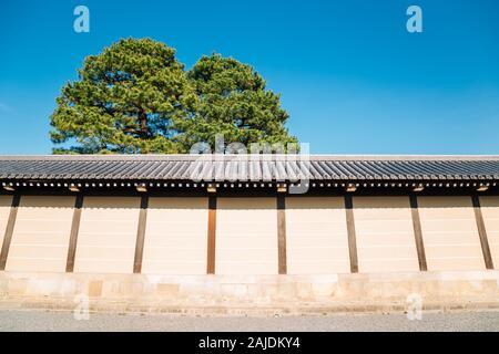 Kyoto Gyoen National Garden in Japan - Stock Photo