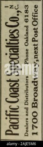 Polk-Husted Directory Co.'s Oakland, Berkeley and Alameda directory . - Stock Photo
