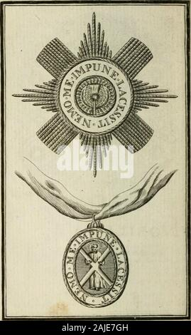 The British compendium; or, Rudiments of honour: Containing the origin of the Scots, and succession of their kings for above 2000 years; . () - Stock Photo