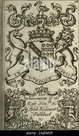 The British compendium; or, Rudiments of honour: Containing the origin of the Scots, and succession of their kings for above 2000 years; . - Stock Photo