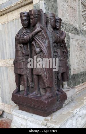 Portrait of the Four Tetrarchs Of Venice - Stock Photo