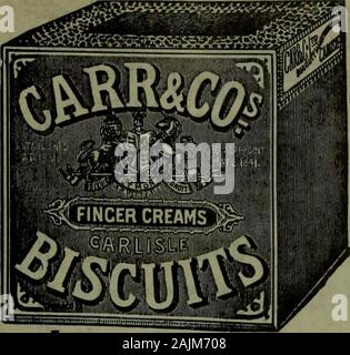 Canadian grocer January-June 1910 . sses. Profit is good. GET SAMPLES IF YOU HAVE NO STOCK THE CANADIAN BISCUIT COMPANY, LIMITED LA PERADE. QUE. _ THE CANADIAN GROCER Why Christie biscuitsmake for success inthe grocery business Success does not happen. There is nothing accidentalabout it. There are alwaysgood and apparent reasonsfor success—especially inthe grocery business. The grocer who conducts a pure food shop isbound to succeed, for the simple and conckisivereason that pure foods are the foundation ofstable reputation—a reputation that no amountof money can buy. Since Christie biscuits a - Stock Photo