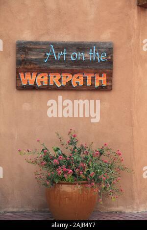 Native American Art Gallery, Old Town, Albuquerque, New Mexico, USA