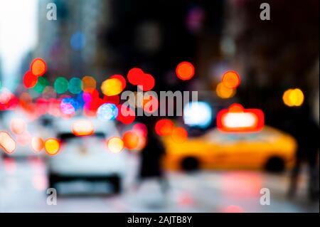 Abstract City Scene New York - Stock Photo