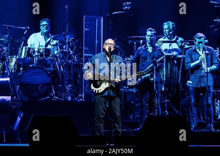 Herning, Denmark. 13th, June 2019. The British singer, songwriter and blues-rock musician Mark Knopfler performs a live concert at Jyske Bank Boxen in Herning. (Photo credit: Gonzales Photo - Lasse Lagoni). - Stock Photo