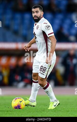 Tomas Rincon of Torino FC during the Serie A match between AS Roma and Torino FC at Stadio Olimpico, Rome, Italy on 5 January 2020. - Stock Photo
