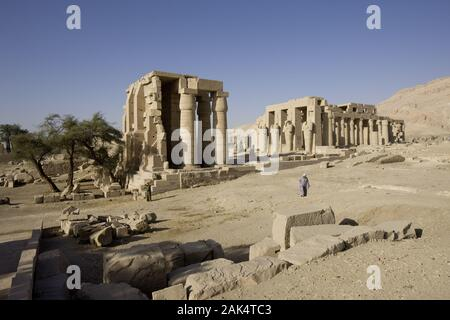 Luxor: Theben West, Ramesseum Tempel (Tempel von Ramses II.), Ägypten | usage worldwide