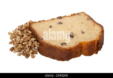Walnut Pound Cake - Stock Photo