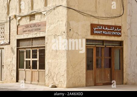 Smart Police Station is a self-service police station with no humans - Stock Photo