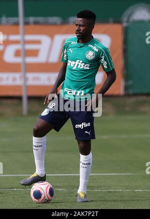 SÃO PAULO, SP - 07.01.2020: TREINO DO PALMEIRAS - Player Ramires of SE Palmeiras during training at the Football Academy. (Photo: Cesar Greco/Fotoarena) - Stock Photo