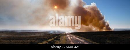 Bushfires in Australia - Stock Photo