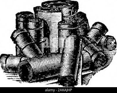 Scientific American Volume 65 Number 20 (November 1891) . PACKING, BELTING, HOSE, MATS, MATTING, ETC. EstalolistLOCi 1855. The Largest Manufacturers of Mechanical Kubber Goods in the World. THE GUTTA PERCHA AND RUBBER MFG. CO.. Para Building, 35 Warren St., New York. Chicago. San Francisco. Portland, Oregon. FROM ONE OF THE FOREMOST ENGINEERING FIRMS IN THE WORLD. After seven years with Thomson-Houston machinery, one hundred motors and abouttwenty dynamos, we have had the highest satisfaction and no difficulty whatever. In no singlecase have we had an armature to replace, and the cost of maint - Stock Photo
