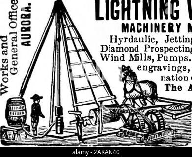 Scientific American Volume 65 Number 20 (November 1891) . @>afi qflfys LIGHTNING WELL-SINKING MACHINERY MANUFACTURERS. Hyrdaulic, Jetting, Revolving, Artesian,Diamond Prospecting Tools, Engines, Boilers,Wind Mills, Pumps. Encyclopedia, 1,000•at engravings, Earths Strata, Determi-nation quality water;mailed,25c. American Well Works, Aurora, 111.?3 r 11 & 13 8. Canal?= I St., Chicago, Ilk. I Dallas, Texafc THEORY AND PRACTICE IN ME- tallurgy. By Prof. W. C. Roberts-Austen, C.B., F.R.S.Address to the Chemical Section of the British Asso-ciation, upon the relation between theory and practicei - Stock Photo