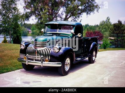 1946 Chevrolet 3/4 ton pickup truck - Stock Photo